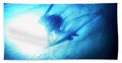 Blue Barrel Beach Towel