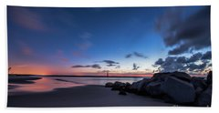 Blue Betsy Sunrise Beach Towel