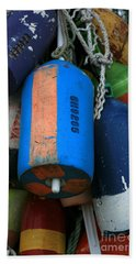 Blue Buoys Beach Towel