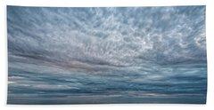 Blue Calm Beach Towel