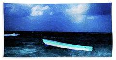 Blue Cancun Beach Towel