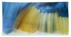 Blue Cascade Beach Towel