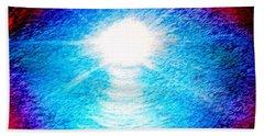 Blue Cave Beach Towel