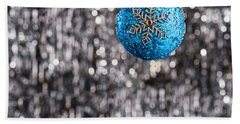 Beach Towel featuring the photograph Blue Christmas by Ulrich Schade