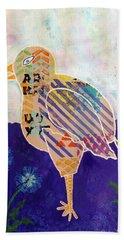 Blue Cornflower Beach Sheet