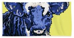 Blue Cow Beach Sheet