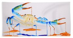 Blue Crab Beach Sheet