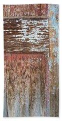 Blue Door Crackle Beach Sheet