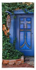 Blue Doors - Old Town - Albuquerque Beach Sheet