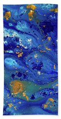 Blue Dream Beach Sheet by Sean Brushingham
