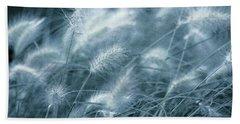 Blue Gras Beach Towel by AugenWerk Susann Serfezi