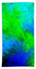 Blue-green Dreams Beach Sheet