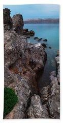 Blue, Green, Gray Beach Sheet