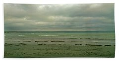 Blue Green Grey Beach Sheet