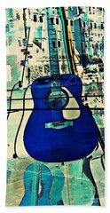 Blue Guitar Beach Sheet