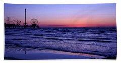 Blue Hour In Galveston Beach Sheet