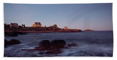 Blue Hour In Gloucester Beach Towel