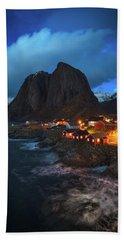 Blue Hour In Lofoten Beach Towel