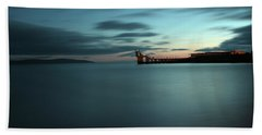 Blue Hour Salthill Beach Towel