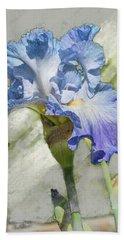 Blue Iris 2 Beach Sheet