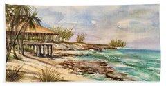 Blue Lagoon Island Beach Sheet
