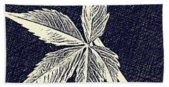 Blue Leaf Beach Sheet