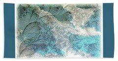 Beach Sheet featuring the photograph Blue Maze by Athala Carole Bruckner