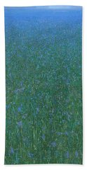 Blue Meadow 2 Beach Towel