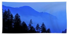 Beach Sheet featuring the photograph Blue Morning - Fs000064 by Daniel Dempster