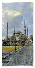 Blue Mosque Beach Sheet