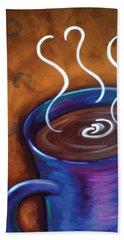 Blue Mug Beach Sheet by Dani Abbott