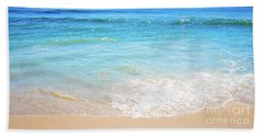 Blue Ocean Horizon Beach Towel