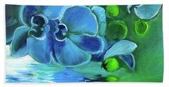 Blue Orchids Beach Sheet