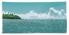 Blue Paradise Beach Towel