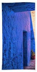 Blue Peru Beach Towel