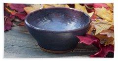 Blue Purple Bowl  Beach Sheet