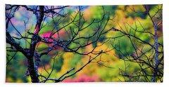 Blue Ridge Autumn Beach Sheet