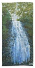 Blue Ridge Falls Beach Towel