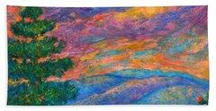Blue Ridge Jewels Beach Towel