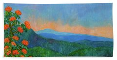 Blue Ridge Morning Beach Towel