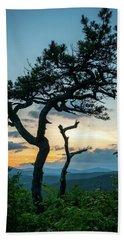 Blue Ridge Mountains Dr. Tree Beach Towel