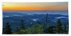Blue Ridge Mountains Sunrise Beach Towel