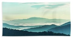 Blue Ridge Pastel Beach Towel