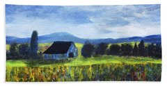 Blue Ridge Valley Beach Towel