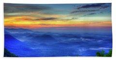 Beach Towel featuring the photograph Blue Ridges Pretty Place Chapel Wedding Venue Art  by Reid Callaway