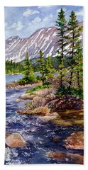 Blue River Beach Towel
