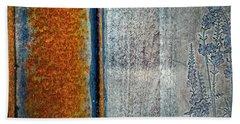 Blue Rust Beach Sheet