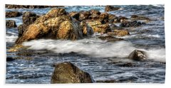 Blue Sea Beach Towel