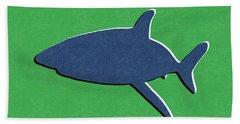 Blue Shark Beach Towel