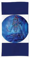 Blue Shiva  Beach Sheet